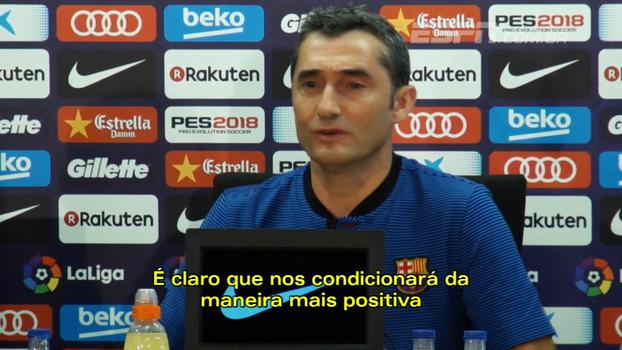 Valverde: 'Messi terá o mesmo papel que teve nos últimos anos'