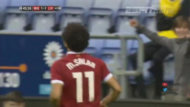 Assista ao primeiro gol de Mohamed Salah pelo Liverpool