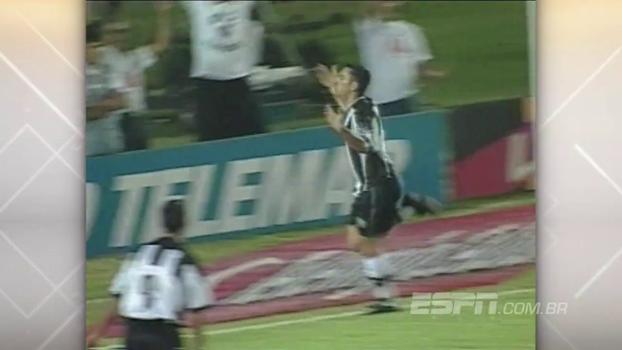 Em 1999, Guilherme fez três no Mineirão e Atlético-MG bateu Flamengo pelo Brasileiro