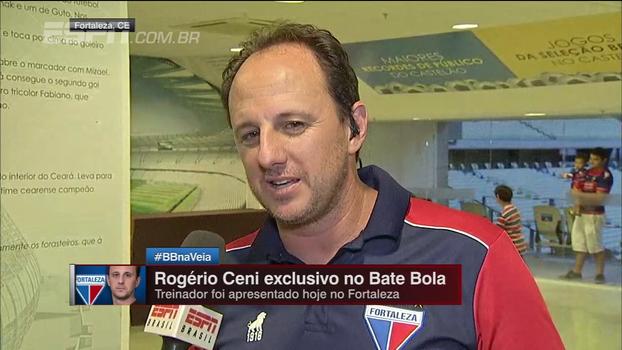 Ceni agradece recepção no Fortaleza e diz: 'Gosto de trabalhar onde eu posso vencer e ser campeão'