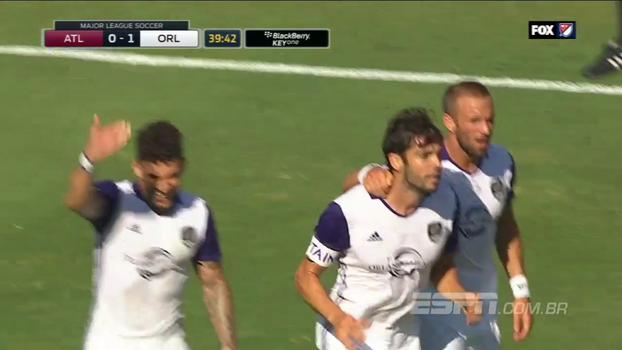 Na MLS, Kaká faz golaço de fora da área em empate do Orlando com o Atlanta