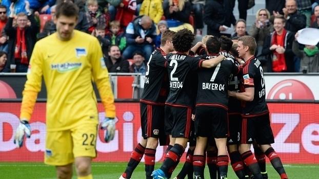 Alemão: Gols de Bayer Leverkusen 2 x 1 Hertha Berlin
