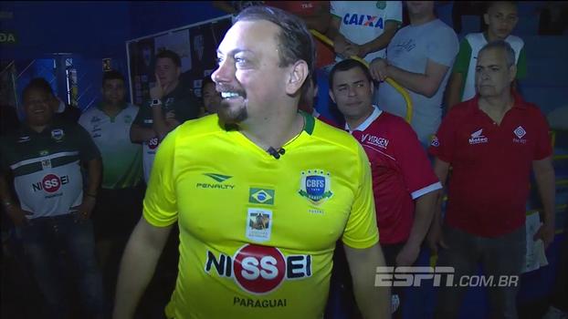 Com Alê Oliveira em quadra e golaço, Futsal das Estrelas termina empatado