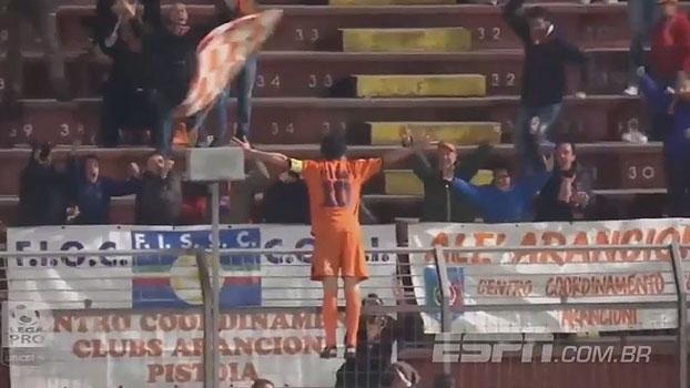 Busca lá! Ex-Internazionale faz golaço em pancada na 3ª divisão italiana