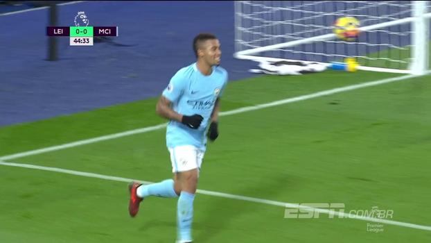Premier League: Gols de Leicester 0 x 2 Manchester City