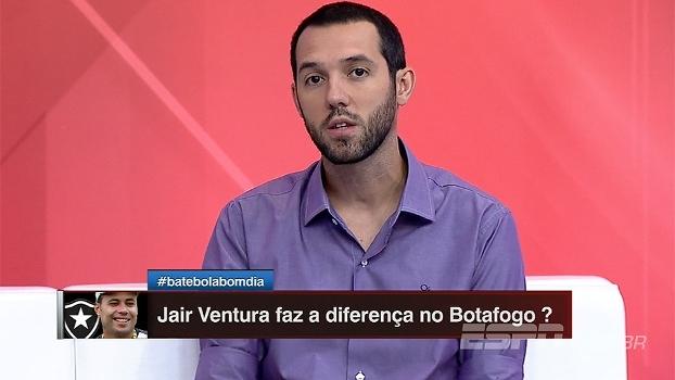 De troca de treinador a passagem de fase na Libertadores, Hofman exalta Botafogo: 'Confiança lá em c