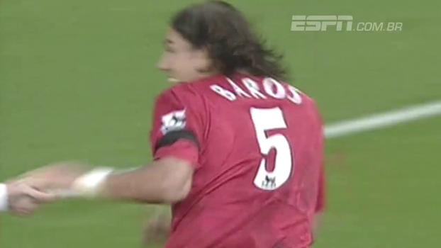 Lembra dele? Milan Baros anotou hat-trick, e Liverpool superou Crystal Palace em 2004