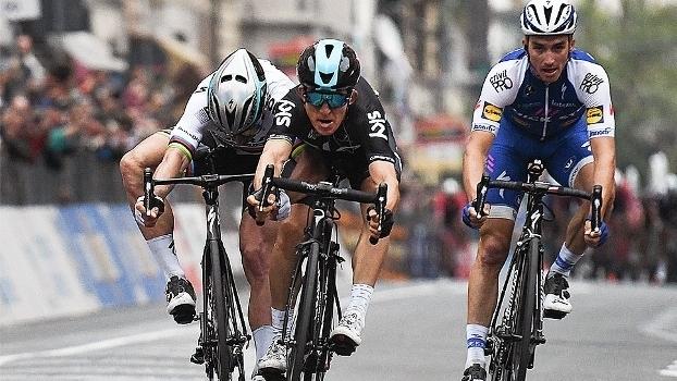 Após desempenho ruim no Tirreno-Adriatico, polonês Kwiatkowski vence Milano-Sanremo