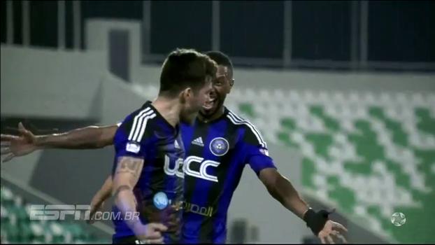 Desconhecido no Brasil, Wagner Ribeiro brilha em vitória do Al Sailiya no Catar