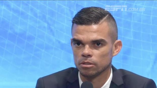 Após 10 anos no Real Madrid, Pepe se apresenta ao  Besiktas