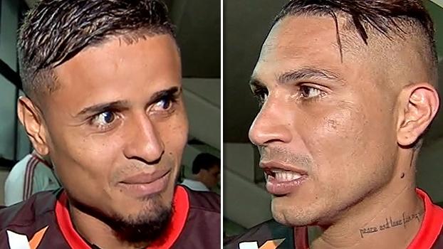 'Vasco veio com postura de querer bater', ironiza Everton; Guerrero celebra 'vitória merecida'