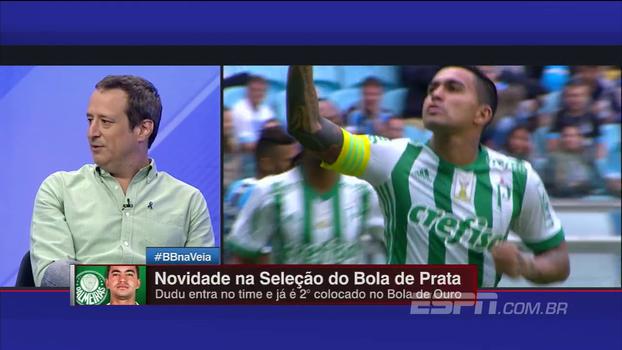 Gian diz que Dudu alternou momentos no Brasileiro: 'Fez muito jogo em nível bem alto'