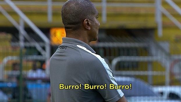 Cristóvão Borges é chamado de burro após substituição