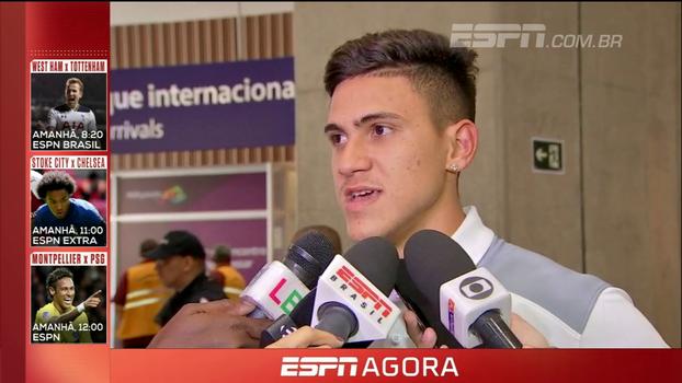 Autor do gol da classificação, Pedro exalta grupo na conquista de vaga na Sul- Americana