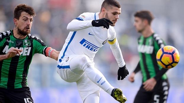 A Internazionale enfrenta o Sassuolo neste domingo, 7h30; ESPN Brasil e WatchESPN mostram