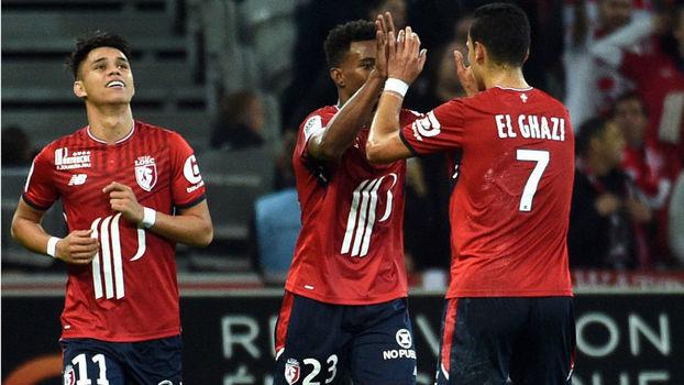 Francês: Gols de Lille 2 x 2 Troyes