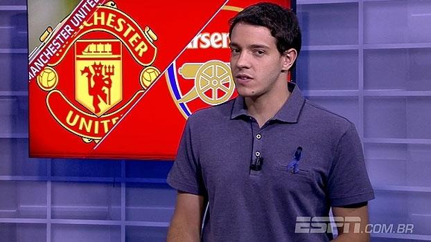 Rafa Oliveira coloca Arsenal como favorito diante do United: 'Momento mostra isso'