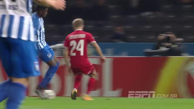 Selke faz 2 gols, Hertha Berlin vence Zorya Luhansk, mas segue em último no Grupo J