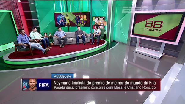 Bertozzi não se surpreende com Neymar indicado ao prêmio de melhor do mundo, mas pondera: 'Outros poderiam estar na lista'
