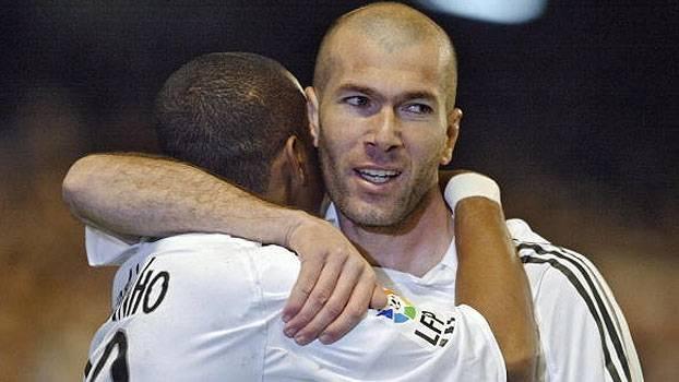 Com passe de Zidane, Robinho fez o dele, deu assistência e o Real venceu o Bilbao em 2006