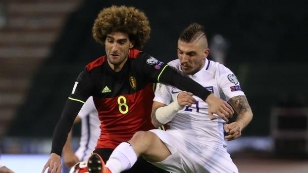 Eliminatórias Europeias: Melhores momentos de Bélgica 1 x 1 Grécia