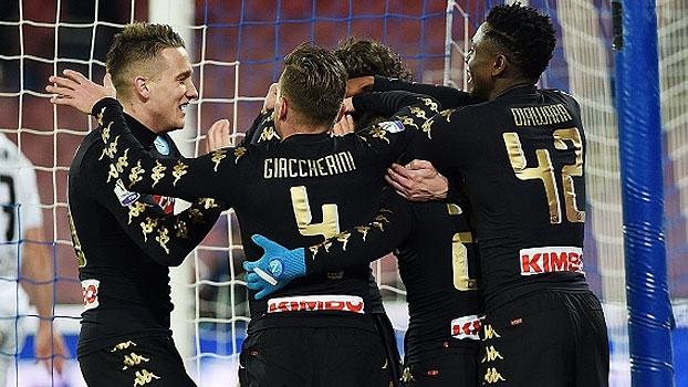 Copa Itália: Melhores momentos de Napoli 3 x 1 Spezia