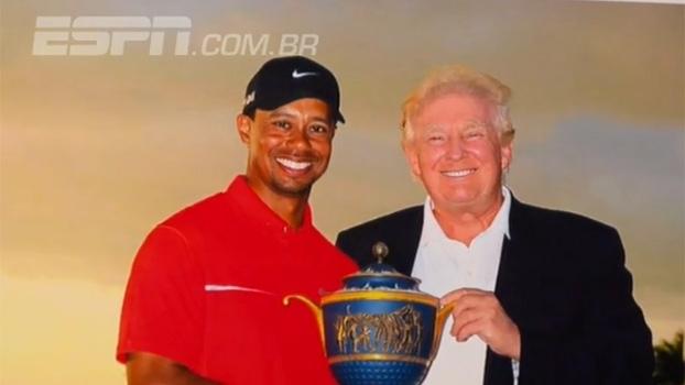 Concorrência para a NFL, golfe e amigos famosos: a ligação de Donald Trump com o mundo dos esportes