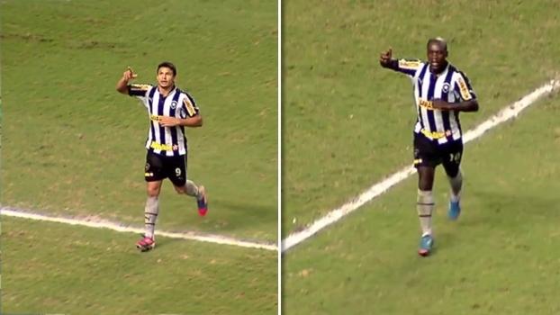 Seedorf e Elkeson deram vitória ao Botafogo sobre o Sport no Brasileiro de 2012