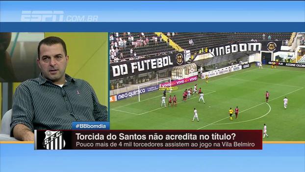 Zé Elias diz que postura do Santos deve ser diferente em campo: 'Responsabilidade precisa ser assumida pelos jogadores'