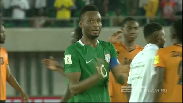 Veja os melhores momentos de Nigéria 1 x 0 Zâmbia
