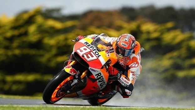 Veja imagens da pole de Marc Márquez no GP da Austrália de MotoGP