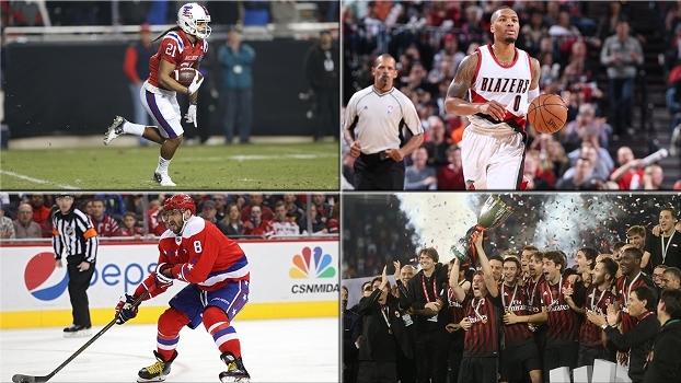 Futebol americano universitário, golaço na NHL, título do Milan e mais no Top 10 de sexta-feira