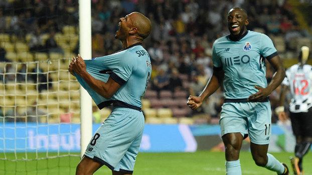 Português: Gols de Boavista 0 x 3 Porto