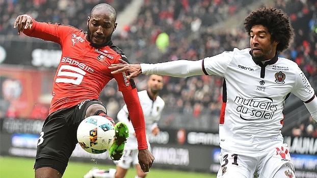Rennes cede empate para Nice em casa e segue sem vencer na Ligue 1