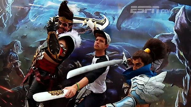 O Mid-Season Invitational 2017 acontece no Rio de Janeiro; repórter do ESPN eSports mostra como é o evento