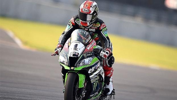 No Mundial de Superbikes, Jonathan Rea domina mais um dia e vence 2ª bateria na Tailândia