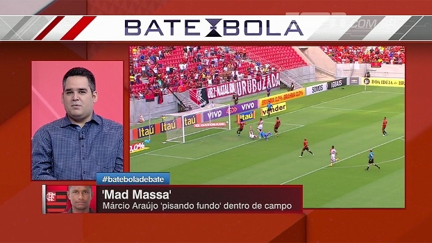 Bertozzi comenta atuação de Márcio Araújo e analisa 'status de intocável' que o jogador já teve