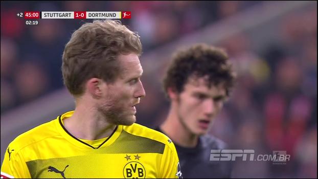 Confira os melhores momentos de Stuttgart 2 x 1 Borussia Dortmund