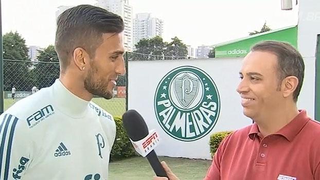 Rafael Marques comemora gol: 'O importante é colocar uma pulga atrás da orelha do Eduardo'