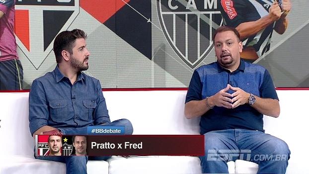 Pratto ou Fred? Para Alê, argentino compete mais, mas brasileiro é melhor tecnicamente