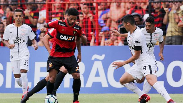 Veja o gol da vitória do Sport sobre o Corinthians por 1 a 0 pelo Brasileiro
