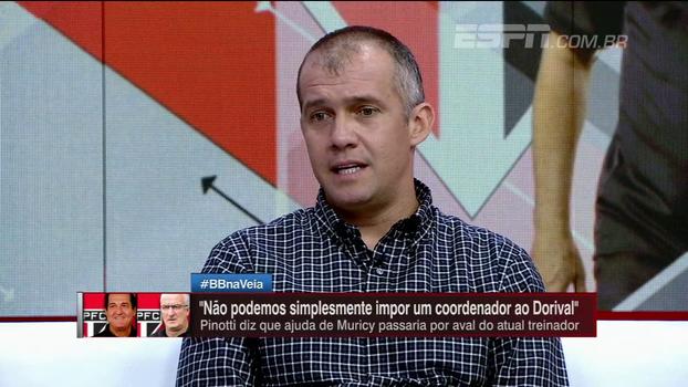 Eduardo Baptista comenta situação do São Paulo e desaprova reunião com organizada: 'Não gosto'