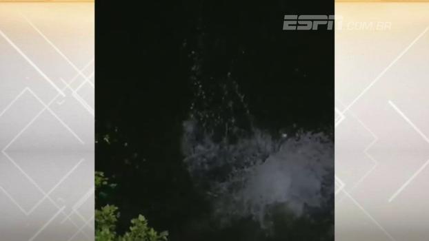 Vale tudo! Torcedor dá mergulho bisonho em rio para buscar bola após home-run em jogo dos Pirates