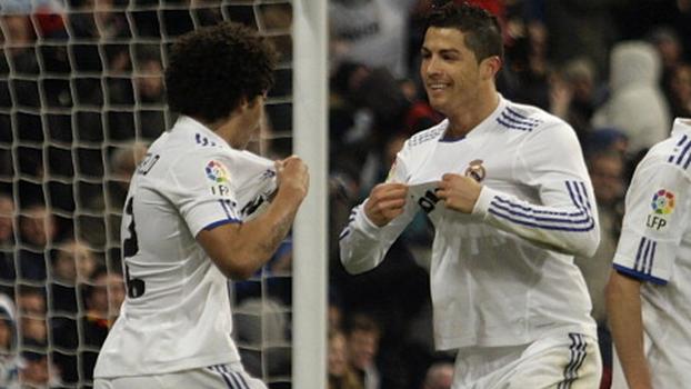Três de Cristiano Ronaldo, dancinha de Marcelo e mais: Real Madrid fez 7 a 0 no Málaga em 2011