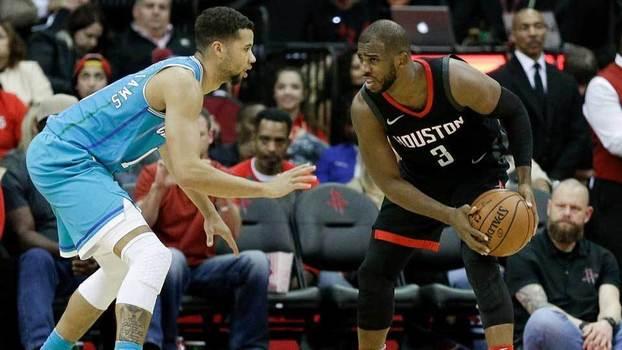 Veja lances da vitória do Houston Rockets sobre o Charlotte Hornets por 108 a 96 na NBA