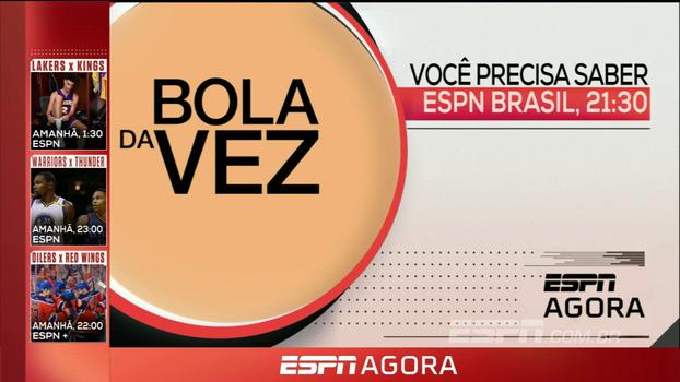 Bola da Vez com Fábio Carille, playoffs da MLS e NHL; veja os destaques da programação desta terça nos canais ESPN