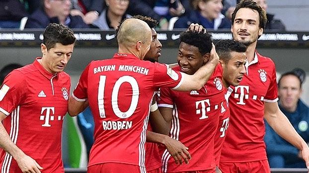 Bundesliga: Gols de Wolfsburg 0 x 6 Bayern de Munique
