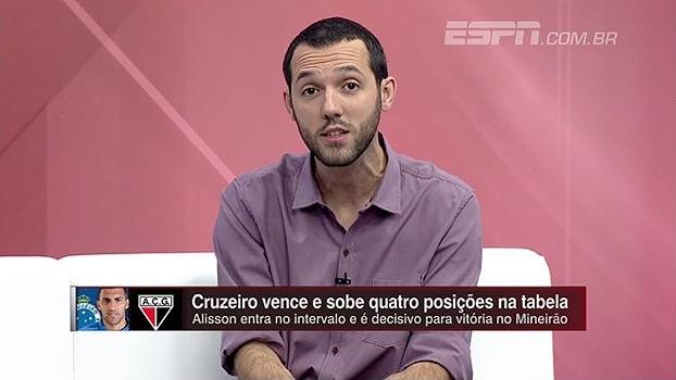 Hofman questiona desempenho do Cruzeiro e explica cobrança: 'É candidato ao título'