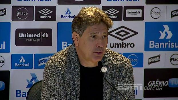 'Não tem condições de jogar a mesma equipe todos os campeonatos',  Renato ainda busca o Corinthians, mas prioriza o mata-mata