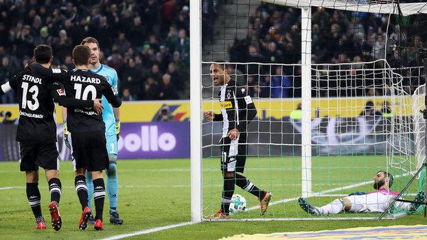 Assista aos gols de Borussia M'Gladbach 3 x 1 Hamburgo